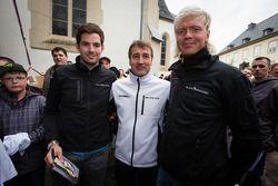 Sean Edwards, Bernd Schneider et Nicki Thiim