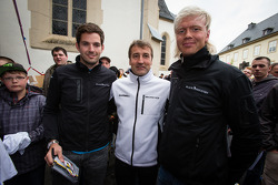 Sean Edwards, Bernd Schneider and Nicki Thiim