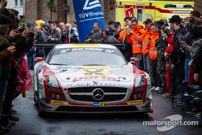 #9 Black Falcon Mercedes-Benz SLS AMG GT3 (SP9)