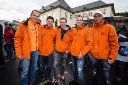 Marco Seefried, Pierre Kaffer, Norbert Siedler, Christopher Brück, Jaap van Lagen