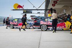 Red Bull Holden team