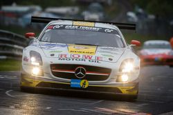 #21 Rowe Racing Mercedes-Benz SLS AMG GT3 (SP9): Marko Hartung, Kenneth Heyer, Christian Hohenadel,