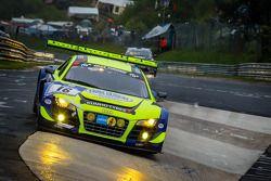 #16 Twin Busch Motorsport Audi R8 LMS ultra (SP9): Marc Busch, Dennis Busch, Manuel Lauck