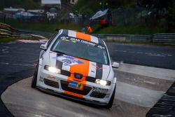 #116 Car Point S Racing-Team Seat Leon Supercopa (SP3T): Daniel Schmieglitz, Uwe Stein