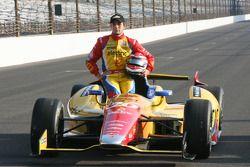 Segundo lugar clasificado Carlos Muñoz, Andretti Autosport Chevrolet