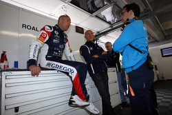 Tom Coronel, BMW E90 320 TC, ROAL Motorsport with Aldo Preo, Team owner, ROAL Motorsport