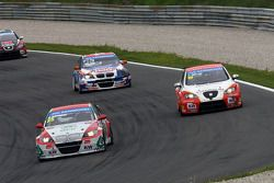 Mehdi Bennani, BMW E90 320 TC, Proteam Racing, Charles Ng, BMW E90 320 TC, Liqui Moly Team Engstler et Fernando Monje, SEAT Leon WTCC, Campo Racing