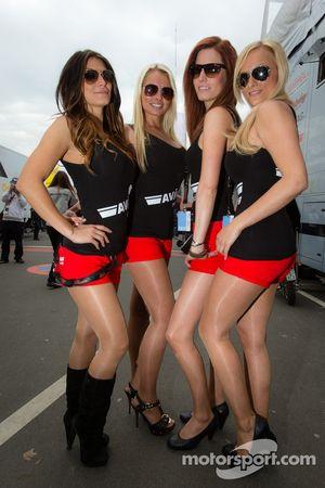 Encantadoras chicas Avia