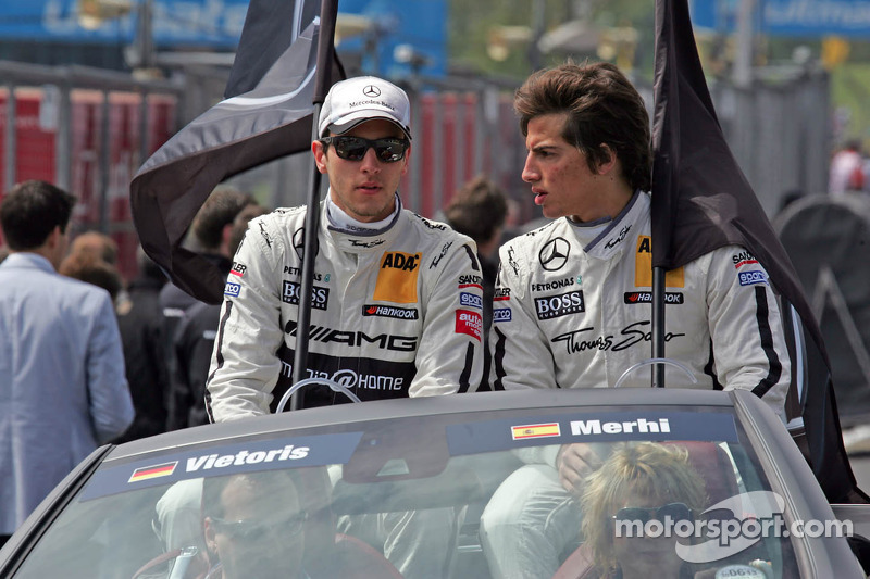 Christian Vietoris en Roberto Merhi