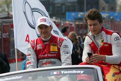 Timo Scheider, Audi Sport Team Abt Audi RS 5 DTM et Adrien Tambay, Audi Sport Team Abt, Audi RS 5 DT