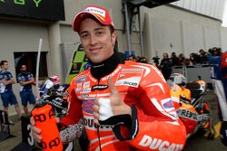 3e plaats Andrea Dovizioso, Ducati Team