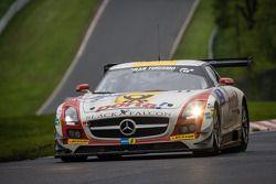 Бернд Шнайдер, Йерун Блекемолен, Шон Эдвардс, Ники Тим, Black Falcon, Mercedes-Benz SLS AMG GT3 (№3)