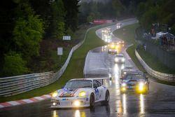 #27 De Lorenzi Racing Porsche 997 GT3 Cup S (SP9): Dario Paletti, Roberto Fecchio, Paul Stubber