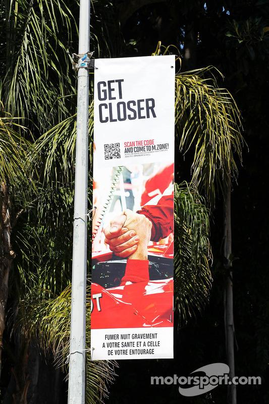 Marlboro cigarette advertising in Monaco