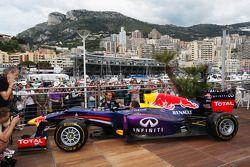 Sebastian Vettel, Red Bull Racing with Sébastien Ogier, Rally Driver