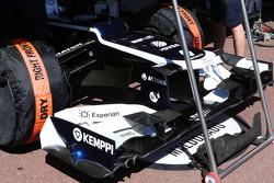 La Williams FW35 de Pastor Maldonado, Williams