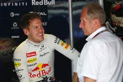 Sebastian Vettel, Red Bull Racing et le Dr Helmut Marko, Red Bull Motorsport