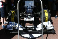 Valtteri Bottas, Williams FW35 neus