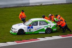 #82 Manheller Racing BMW M3 (SP8): Stefan Manheller, Uwe Krumscheid, David Quinlan
