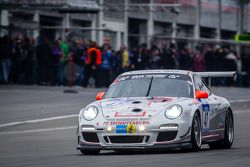 #47 CC Car Collection Porsche 911 GT3 Cup (SP7): Peter Schmidt, Johannes Siegler, Chris Zöchling, Kl
