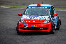 #149 Raceunion Teichmann Racing Renault Clio (SP3): Marcel Schaaf, Jukka Nieminen