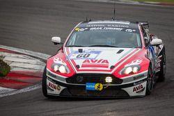 #60 Mathol Racing Aston Martin Vantage V8 GT4 (SP10): Wolfgang Weber, Norbert Bermes, Richard Nilsso