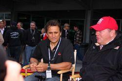Alex Zanardi regresa a Indianápolis