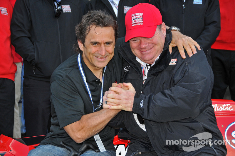 Alex Zanardi regresa a Indianápolis con Chip Ganassi