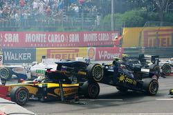 Accident pour Marcus Ericsson et Tom Dillmann