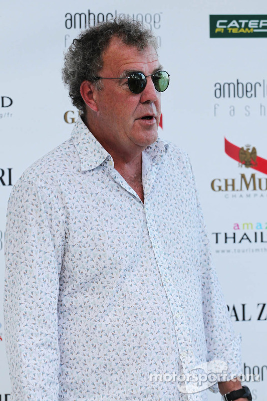 Jeremy Clarkson, no Amber Lounge Fashion Show