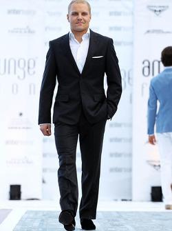 Valtteri Bottas, Williams à l'Amber Lounge Fashion Show