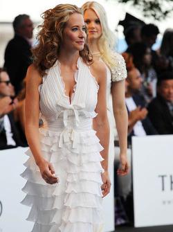 Laura Jordan, kız arkadaşı, Paul di Resta, Sahara Force India F1, Amber Lounge Moda Gösterisinde
