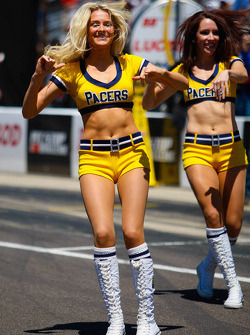 Les cheerleaders Indiana Pacers