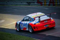 #77 Raceunion Teichmann Racing Porsche 911 GT3 Cup (SP7): Jos Menten, Stefan Landmann, Stef Vancampe