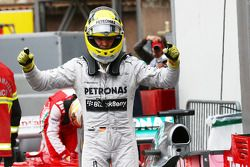 Pole position voor Nico Rosberg, Mercedes AMG F1 W04 25