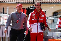 Ron Howard avec Renato Bisignani, Ferrari