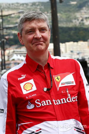 Steve Clark, Ferrari Chief Engineer