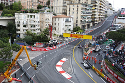 Sebastian Vettel, Red Bull Racing RB9 et Nico Rosberg, Mercedes AMG F1 W04