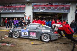 Pit stop #33 11er-Ecke Racing Porsche 911 GT3 Cup (SP7): Andreas Sczepansky, Steffen Schlichenmeier,
