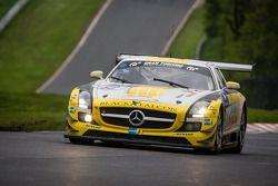 #63 Black Falcon Mercedes-Benz SLS AMG GT3 (SP9): Vimal Mehta, Khaled Al Qubaisi, Daniel Keilwitz, C