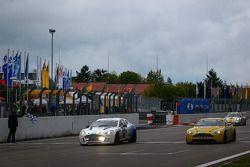 #100 Aston Martin Test Centre Aston Martin Rapide S (E1-XP2): Ulrich Bez, Wolfgang Schuhbauer, Matth
