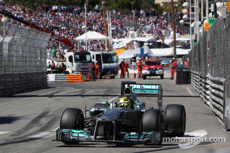 Нико Росберг, Гран При Монако-2013