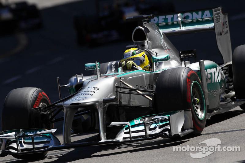 2013: Ganador de la carrera Nico Rosberg (Mercedes F1 W04)