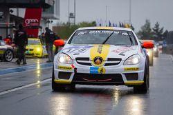 #179 Autohaus Eugen Sing Mercedes-Benz SLK 350 (V6): Cyndie Allemann, Bertin Sing, Sven Hannawald, T