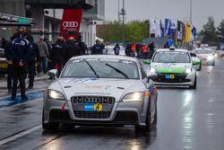 #101 Hömberg Motorsport Audi TT S (SP3T): Bernd Hömberg, Alexander Streit, Torsten Platz, Bernhard H