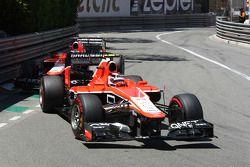 Max Chilton, Marussia F1 Team MR02 et Jules Bianchi, Marussia F1 Team MR02