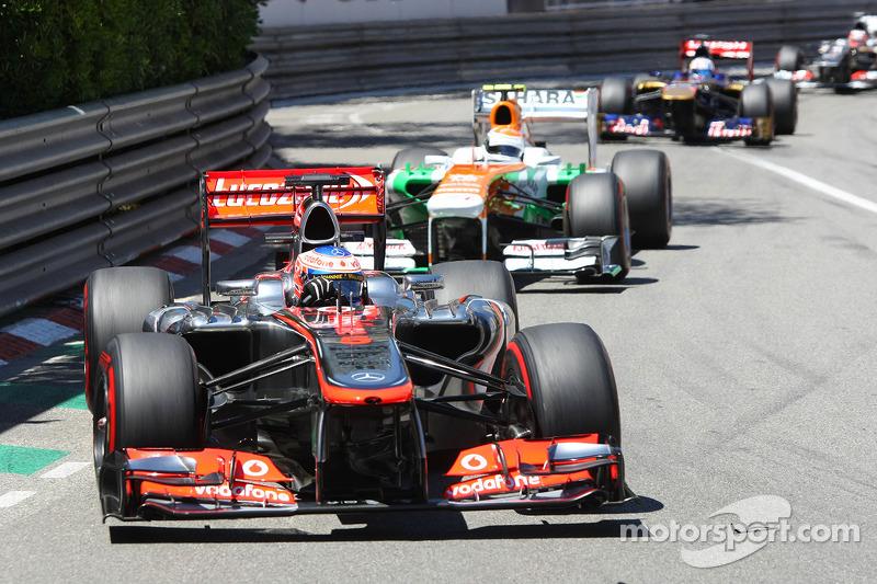 Button busca seguir en los puntos en Mónaco