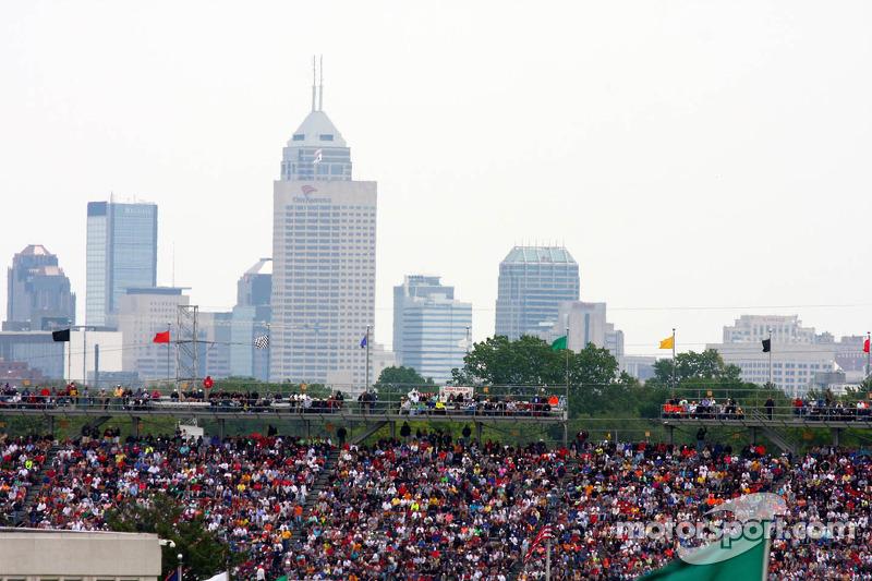 Een overzichtsfoto van Indianapolis