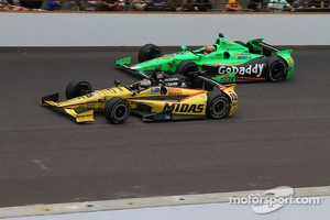 Graham Rahal and James Hinchcliffe