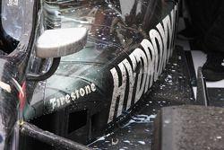 Detail of Tony Kanaan, KV Racing Technology Chevrolet